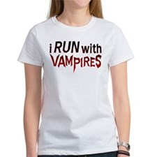 I Run With Vampires Women's T-Shirt