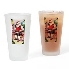 Santas Workshop Drinking Glass