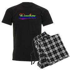 Kimber, Rainbow, Pajamas