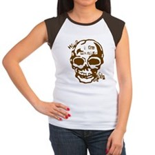 ManiacsAlmanac.com Women's Cap Sleeve Tee (Brown)