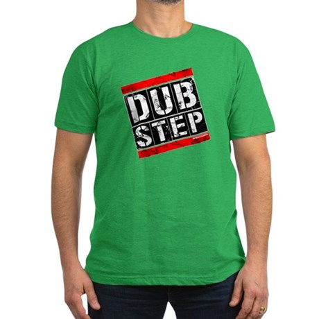 Dub Step Men's Fitted T-Shirt (dark)