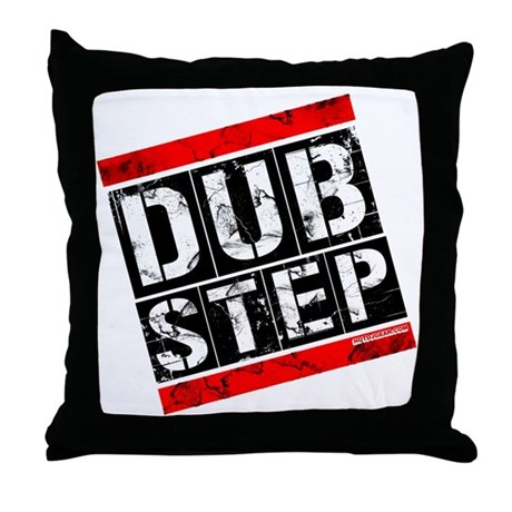 Dub Step Throw Pillow