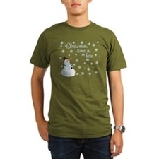 Snowman Christmas time T-Shirt