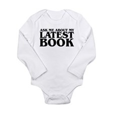 Funny Book of me Long Sleeve Infant Bodysuit