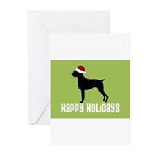 Cute Dog breed Greeting Cards (Pk of 20)