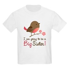 Big Sister to be - Mod Bird T-Shirt