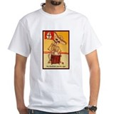 The Drummer and his cigar. T-Shirt