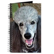 Smiling SIlver Poodle Journal