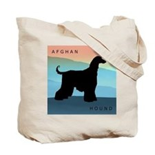 Cute Afghan hound Tote Bag