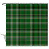 Irish National Tartan Shower Curtain