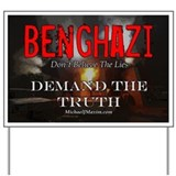 Benghazi Demand The Truth (color) Yard Sign