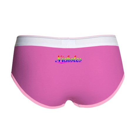 Nicholes, Rainbow, Women's Boy Brief