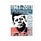 Kennedy Assassination 50 Year Anniversary Postcard