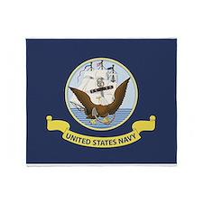 Navy Flag Blanket