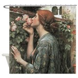 The Soul of the Rose by Waterhouse Shower Curtain
