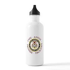 Care Advise Provide Facilitate Water Bottle
