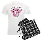 Bunco Breast Cancer Dice pajamas