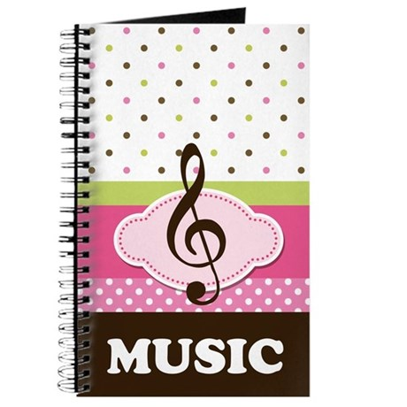 Cute Music Practice Notebook Journal
