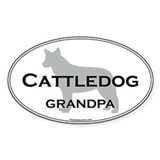 ACD GRANDPA Oval Decal