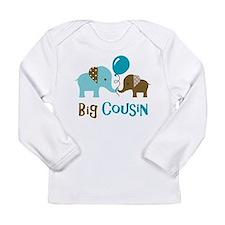 Big Cousin - Elephant Long Sleeve T-Shirt