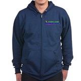 Samson, Rainbow, Zipped Hoodie