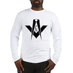 Masonic Bold & Black S&C Long Sleeve T-Shirt