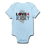 Love 4 Jersey Infant Bodysuit