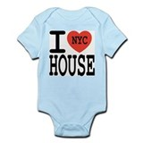 I Love NYC House Infant Bodysuit