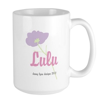 Lulu Name Large Mug