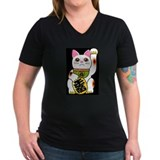 super lucky happy fun cat shirt T-Shirt