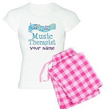 Personalized Music Therapist Women's Light Pajamas
