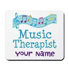 Personalized Music Therapist Mousepad