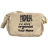 Personalized Organist Messenger Bag