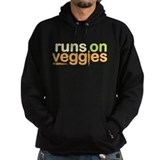 Runs On Veggies Hoody