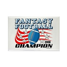 2006 FFL Champion Rectangle Magnet (100 pack)