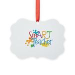 SmART Art Teacher Picture Ornament
