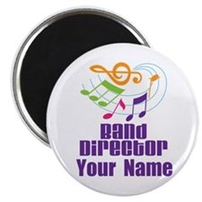 Personalized Band Director Magnet