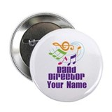 "Personalized Band Director 2.25"" Button"