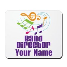 Personalized Band Director Mousepad