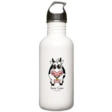 Save Cows Water Bottle