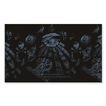 Masonic Fantasy Blue Sticker (Rectangle 10 pk)