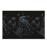 Masonic Fantasy Blue Postcards (Package of 8)