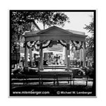 Central Park Bandstand Tile Coaster