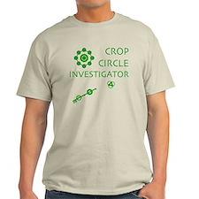Crop Circle Investigator Light T-Shirt