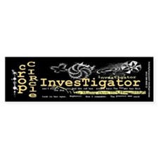 Crop Circle Inv V2 Bumper Bumper Sticker