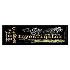 Crop Circle Inv V2 Bumper Sticker (10 pk)