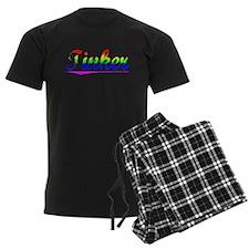 Tinker, Rainbow, pajamas