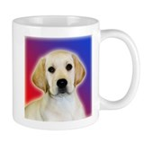 Yellow Lab Pop Art Puppy Mug