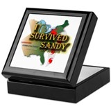 I Survived Sandy Keepsake Box