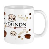 Official COMMON GROUNDS Coffee Shop Small Mugs